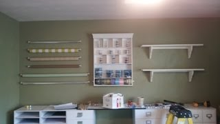 Craft Room Makeover Part 6