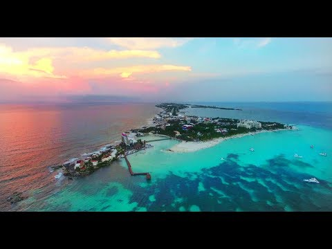 Isla Mujeres Drone Video 4k 2017