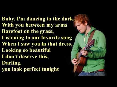 Perfect - Ed Sheeran [Lyrics]