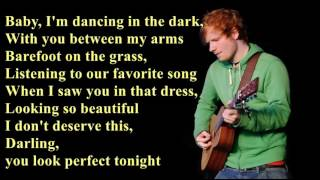 Perfect - Ed Sheeran [Lyrics] MP3
