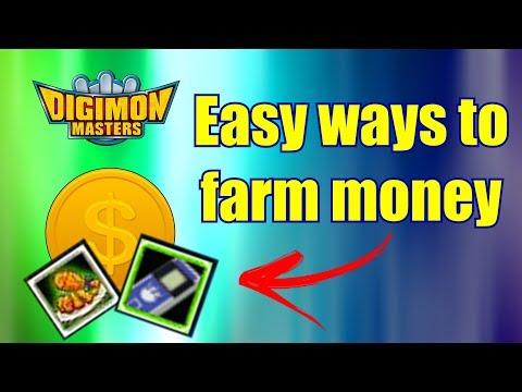 Easy ways to farm money - Digimon Masters Online
