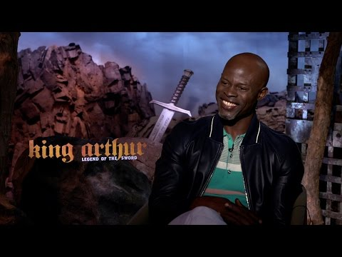 Interview with Djimon Hounsou about his new role in King Arthur: Legend of the Sword