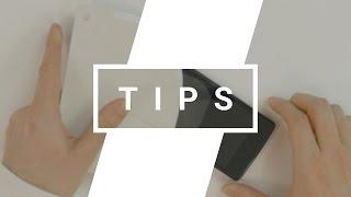 Cómo remover vidrio templado roto de smartphone/tablet