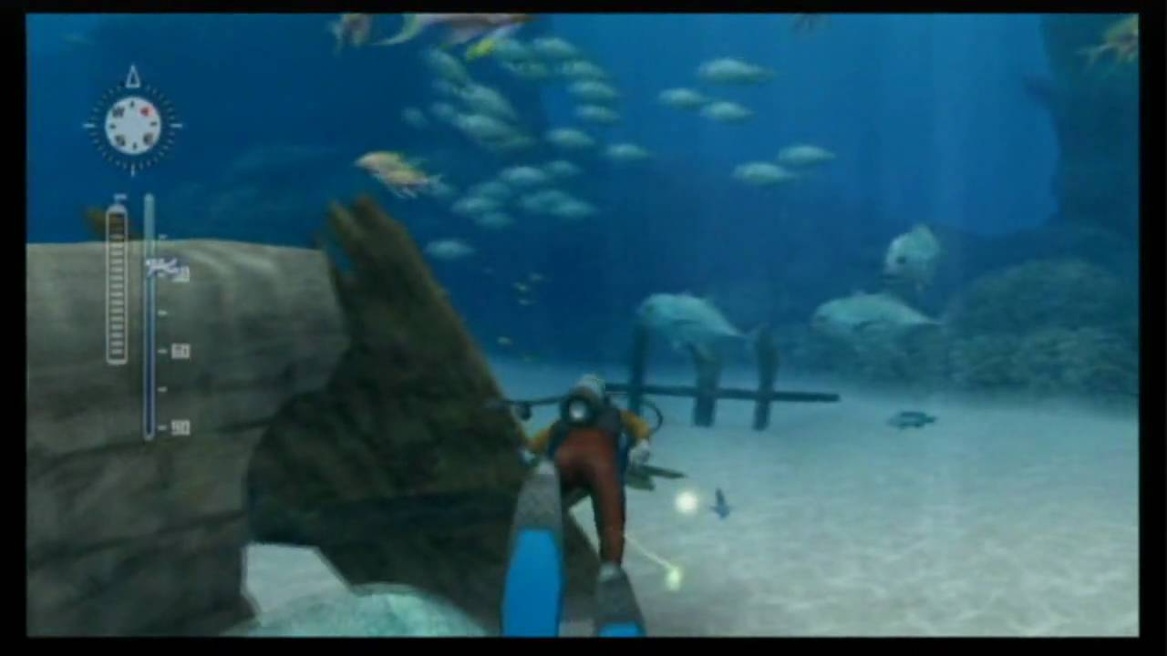 endless ocean 2 blue world review wii youtube