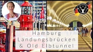 What to do in Hamburg, Germany Part 2: Landungsbrücken &amp Old Elbtunnel   MyGerman.Recipes