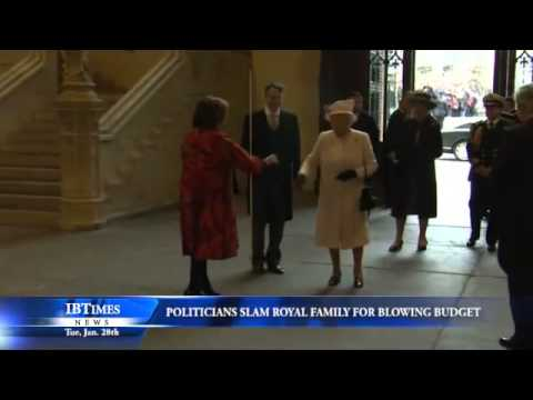 Politicians Slam Royal Family for Blowing Budget