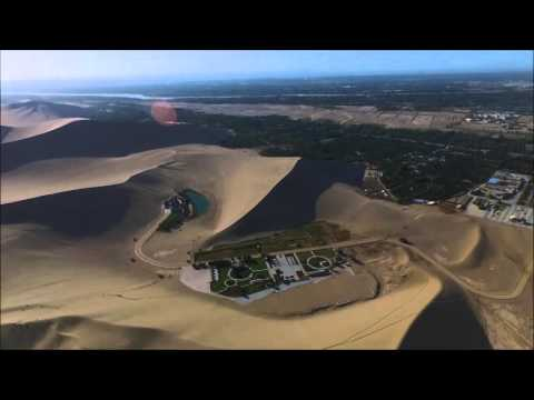 2015大漠敦煌 DJI PHANTOM 3 ADVANCE Dunhuang Crescent Spring Mogao Caves