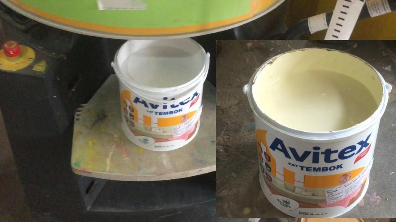 Oplos Cat  Tembok Avitex Warna  Cream  Soda  YouTube