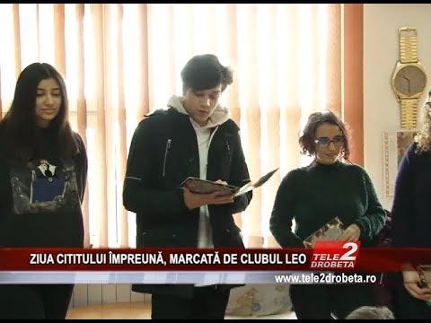 ZIUA CITITULUI ÎMPREUNĂ, MARCATĂ DE CLUBUL LEO