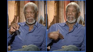 """Morgan Freeman: """"I believe in God and I believe in me - same person!"""""""