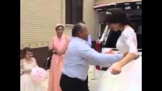 Дагестанская свадьба. Танец отца с невестой