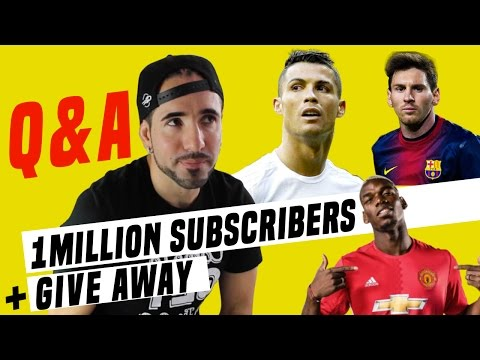 Q&A- Special 1 million subs + Giveaway !