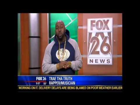 Rapper Trae Tha Truth Performs Live on FOX 26 Houston