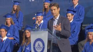 David Ferrer, Guest of Honor at the 2019 Graduation