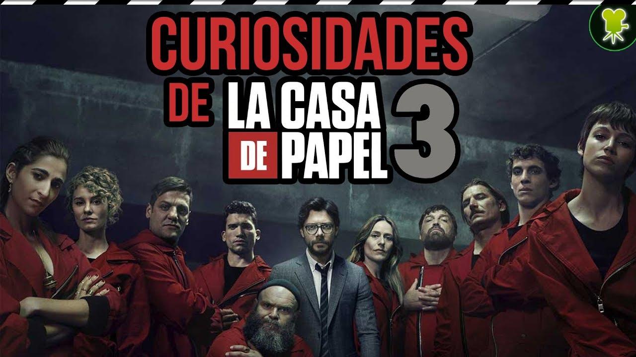 Curiosidades de 'LA CASA DE PAPEL' Tercera Temporada