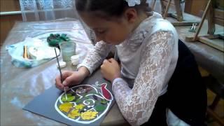 Урок образотворчого мистецтва для дітей