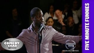 Kevin Hart⎢Fighting at Chuck E. Cheese's⎢Shaq's Five Minute Funnies⎢Comedy Shaq
