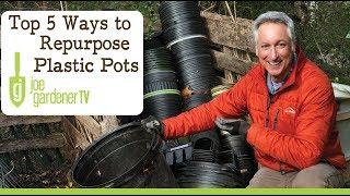 Top 5 Ways to Repurpose Plastic Nursery Pots