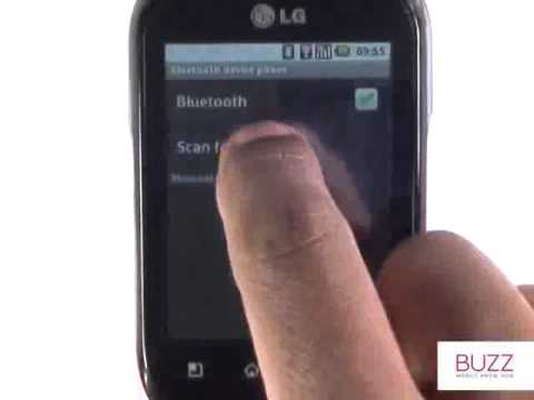 Sending media by Bluetooth |LG Optimus Chat|The Human Manual