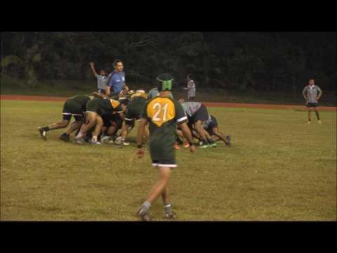 Quarter Finals High School Rugby Guam : Varsity : Southern Dolphins vs JFK