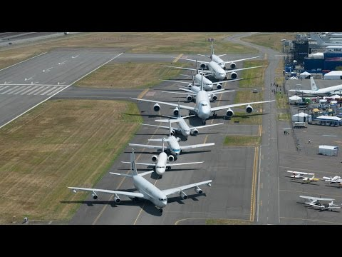 The Boeing 700 Family Lineup 2016