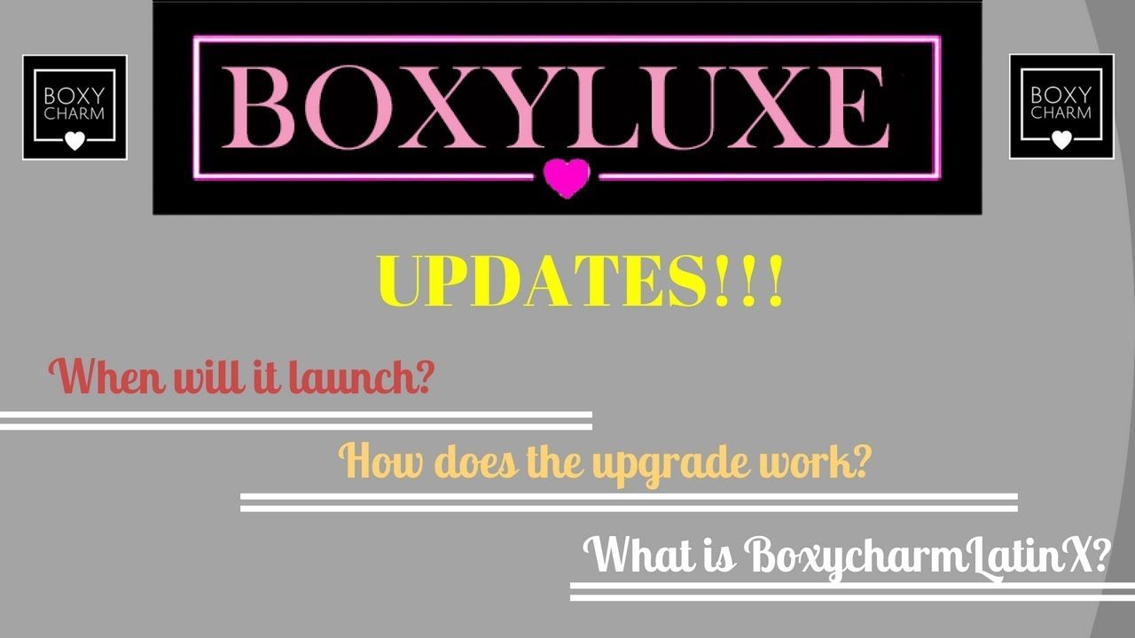 Boxycharm & Boxyluxe Subscription UPDATE!!!