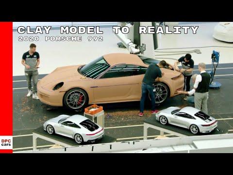 2020 Porsche 911 991 Clay Model To Reality