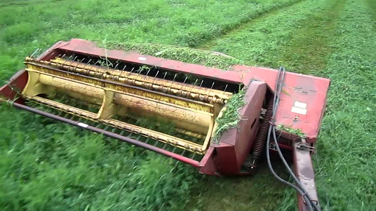 cutting hay with the 4010 and 489 haybine youtube rh youtube com new holland 469 haybine manual download new holland 489 haybine service manual