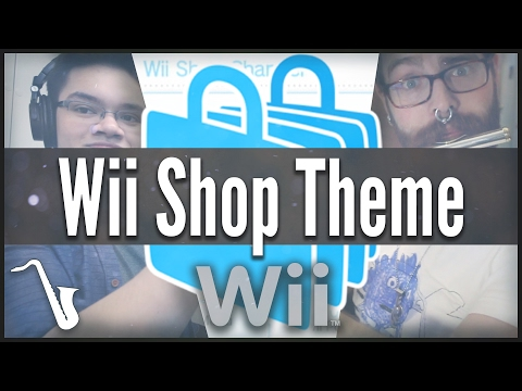 Wii Shop Theme - Jazz Cover || insaneintherainmusic (feat. 8BitBrigadier & Kenny Stern)