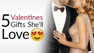 5 Valentine's Day Gifts That Get You Lucky!   Gift Ideas She'll Love