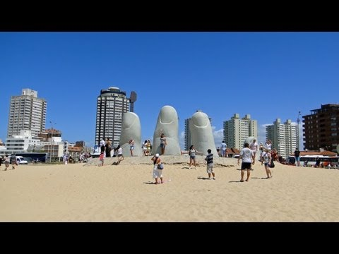 Punta del Este is called the St. Tropez of Uruguay sightseeing tour in HD