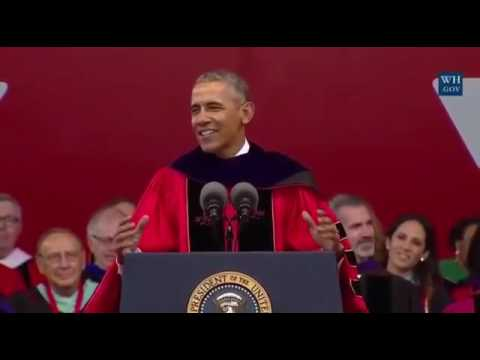 President Obama Delivers the Rutgers University Commencement Address