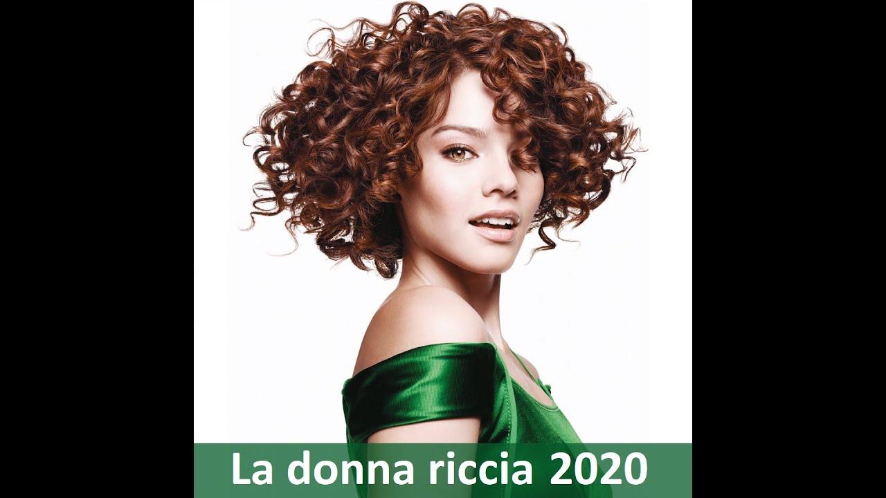 Tagli capelli ricci 2020 - YouTube