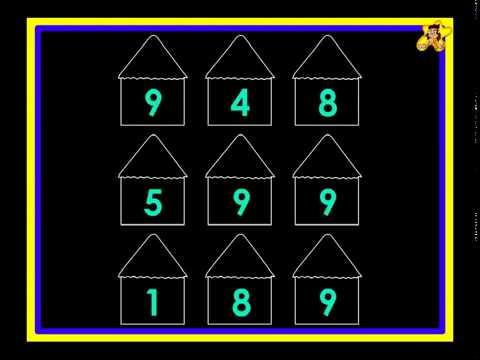 Color by number worksheet   number 9   Kindergarten worksheets