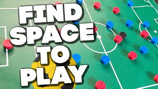 Soccer Tips - How To Find Space In Soccer