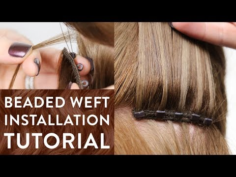 Micro Ring Beaded Weft Tutorial