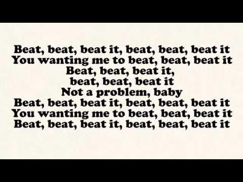 Sean Kingston - Beat It ft. Chris Brown & Wiz Khalifa (Lyrics On Screen) - YBF