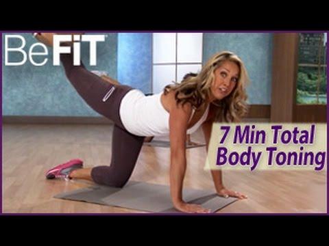 7 Min Total Body Toning Workout - Denise Austin