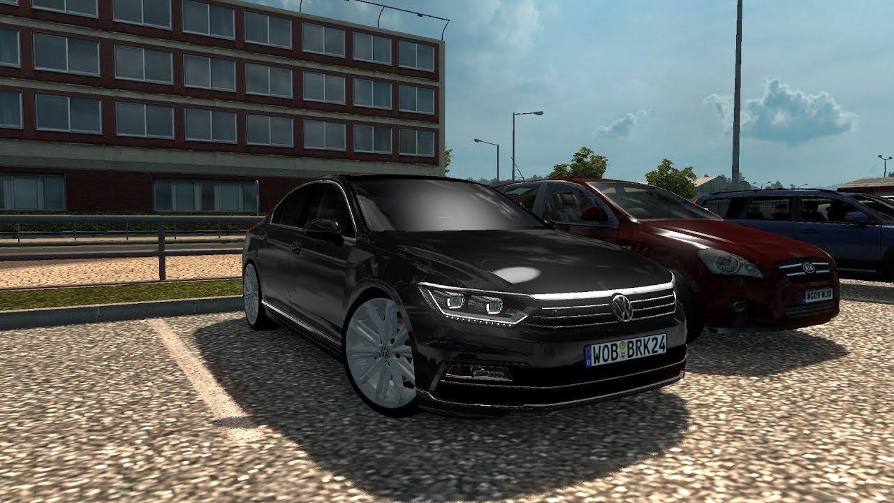 Passat R Line 2017 >> ETS2 - VW Passat B8 2.0 BiTDI R-Line - Logitech G27 (Euro ...