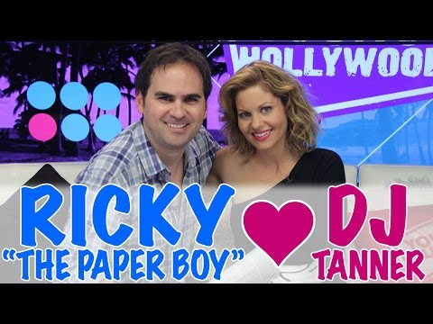 Surprise FULL HOUSE Reunion with DJ Tanner & Ricky The Paperboy!