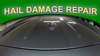 Hail Damage Repair Blaine MN - Auto Paintless Dent Removal Hail Dents