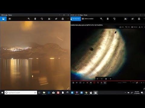 Planet ATU coming into focus through the failing lens array