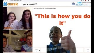 Guy On Omegle Tells Us How To Pick Up Girls