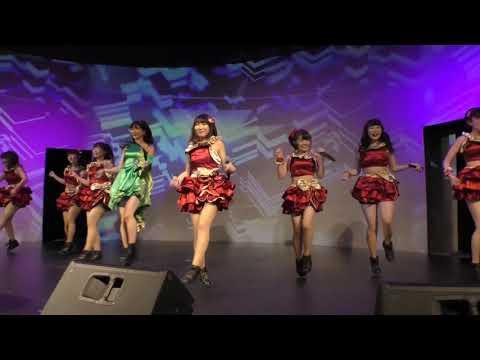森咲樹×ももキュン☆(早稲田大学)「アッパーカット!」【アップアップガールズ(仮)×UNIDOL Special Event】2018年11月19日@ Key Studio