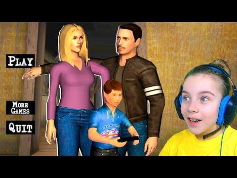 ЭТОТ НЕПОСЛУШНЫЙ ребенок РОДИТЕЛЕЙ Игра от Разработчиков Scary Teacher 3D