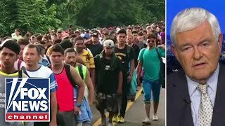 Why Gingrich says caravan is