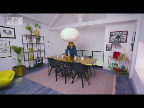Fine Living Channel - How to create a dining room in a small space