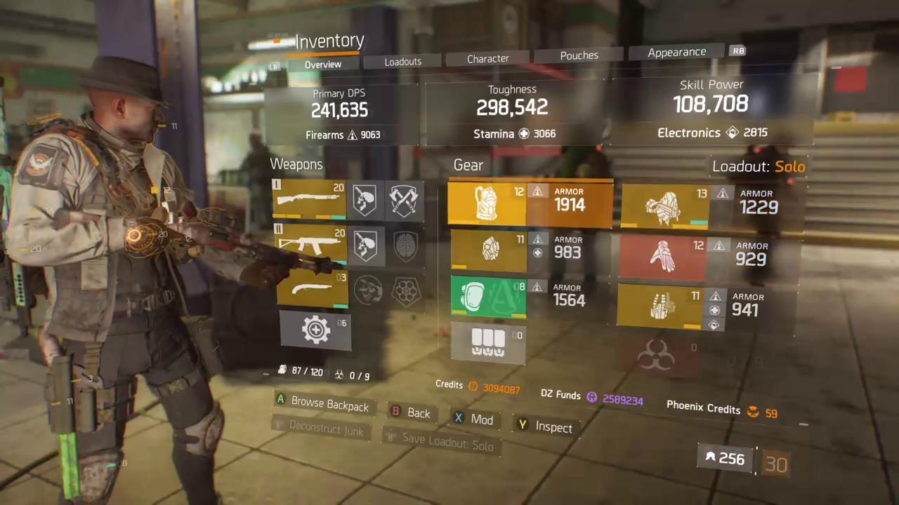 The Division One Shot Shotgun Build