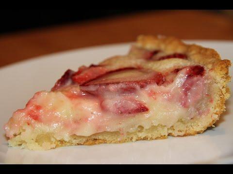 ПИРОГ С КЛУБНИКОЙ ( Strawberry cake)-ОООЧЕНЬ вкусный!