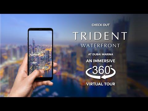 Trident Waterfront, Dubai Marina, 3 Bed Apartment – Virtual Tour Video